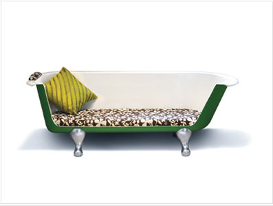 Max: the Roll Top Bath Recycled Furniture