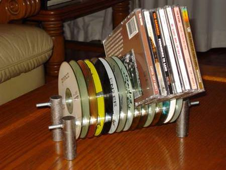 Diy : Cd Holder Accessories Do-It-Yourself Ideas