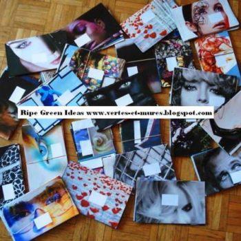 Magazine into Envelops