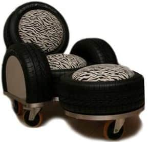 Tire Sofa Recycled Furniture Recycled Rubber