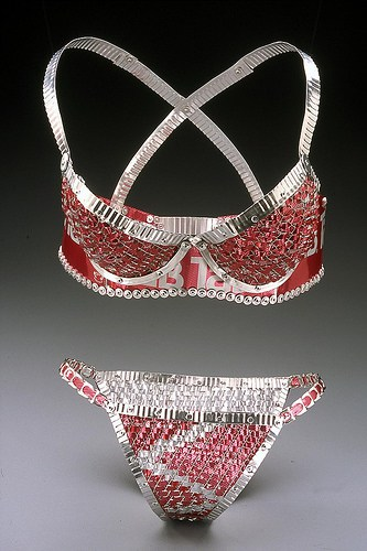 Trashy Lingerie Accessories Recycling Metal