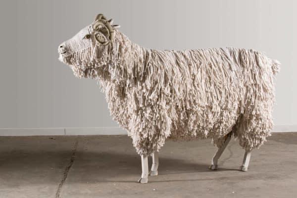 Animal Farm by Federico Uribe Recycled Art