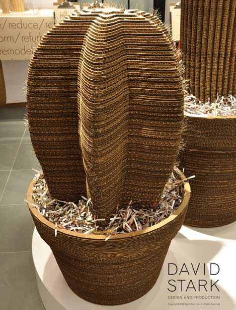 Cardboard Cactus Recycled Art Recycled Cardboard