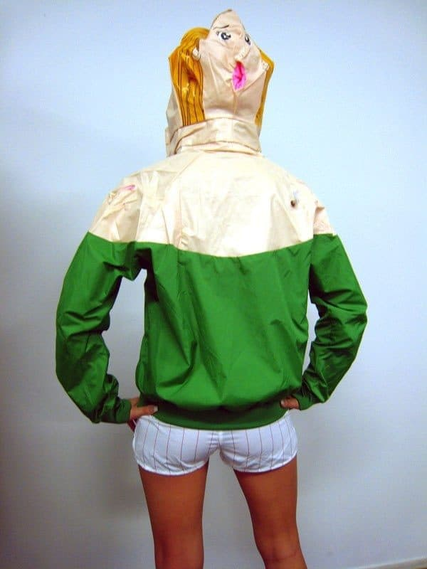 When Sex Dolls Become Jackets... Accessories Recycled Plastic