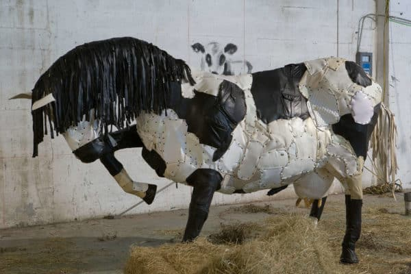 Animal Farm by Federico Uribe Recycled Art