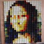 Mona Lisa Egg Carton