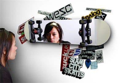 Skate Mirror Accessories Recycled Sports Equipment
