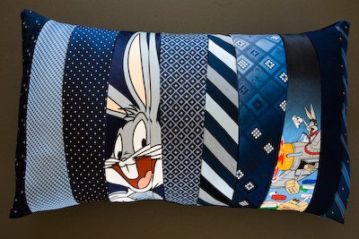 ties-pillow
