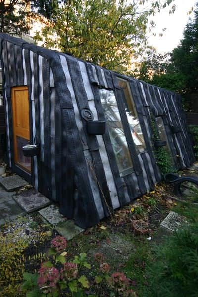 Tire House Home Improvement Recycled Rubber