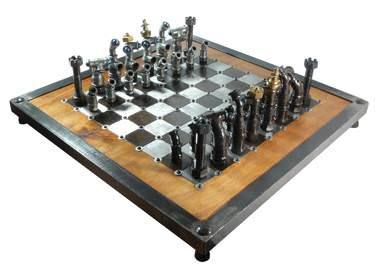 Utube Chess Recycling Metal