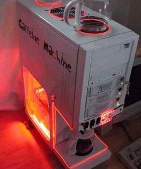 Computer Coffe Machine