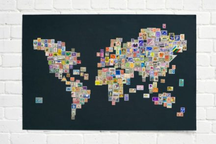 Stamps Worldmap