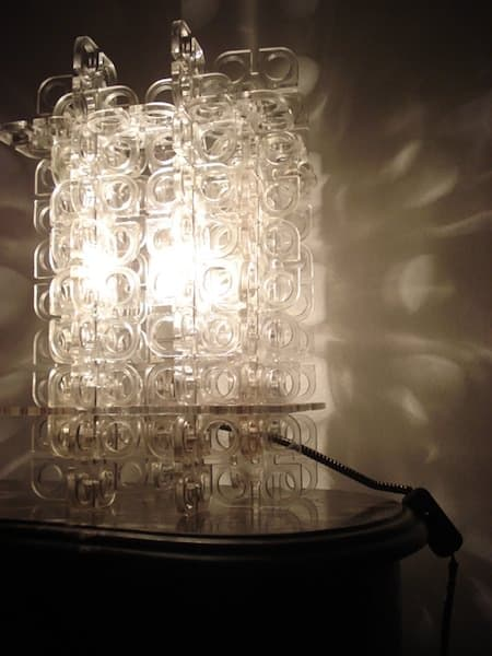 Acrilic Display Recycled Lamp Lamps & Lights