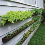 Repurposed Rain Gutters