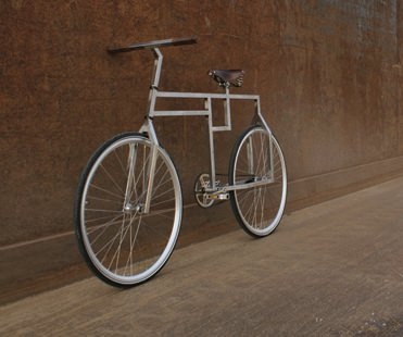 Bau-bike: Inspired by Bauhaus Design ! Upcycled Bicycle Parts