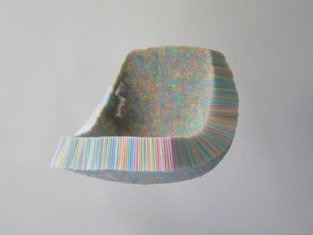 Clutch Chair (Made of Drinking Straws)