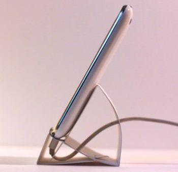 DIY : Iphone paper stand dock