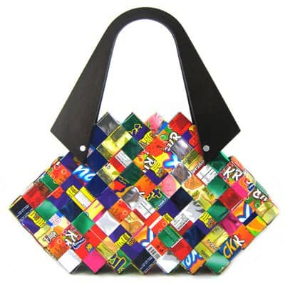 Handbags from Waste Accessories Recycling Paper & Books