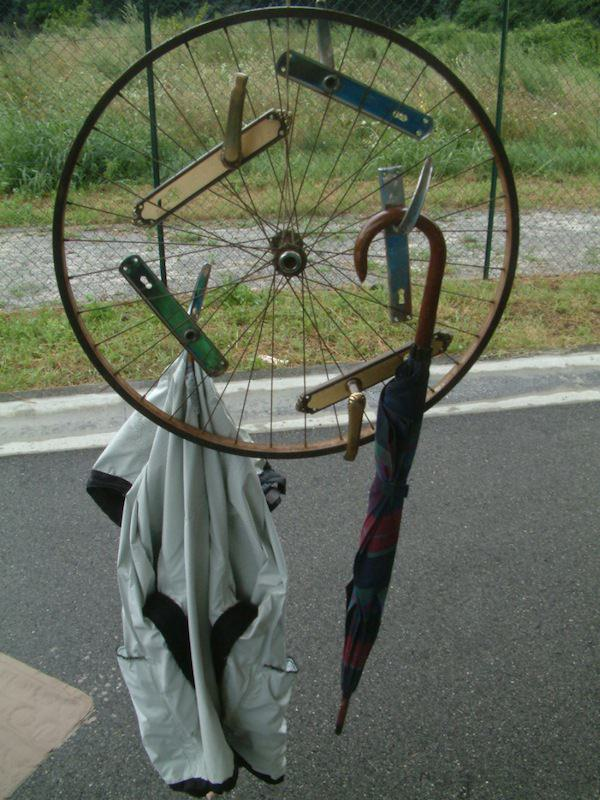 Clothes Hanger Accessories Upcycled Bicycle Parts