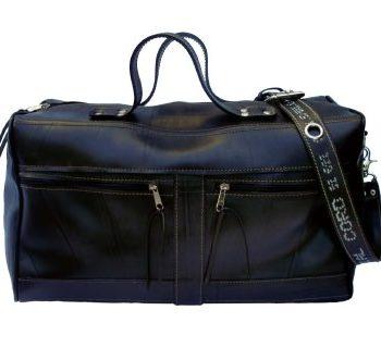 Travel Bag from inner tubes