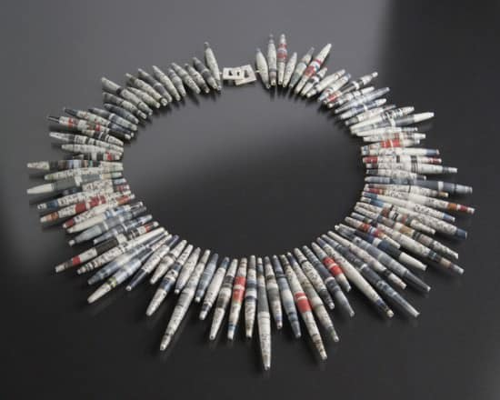 Paper Jewels By Claudia Diehl Recycling Paper & Books Upcycled Jewelry Ideas