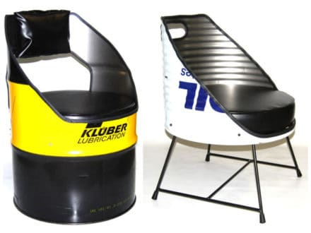 Oil Drum Repurposed Into Seats By Vaho