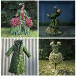 Weedrobes Ephemeral Sculptures