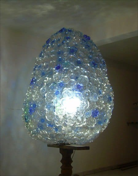 The Egg Lamps & Lights Recycled Art Recycled Plastic