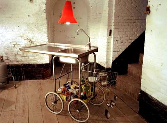 Mobile Kitchens By Maxime Ansiau Recycled Furniture