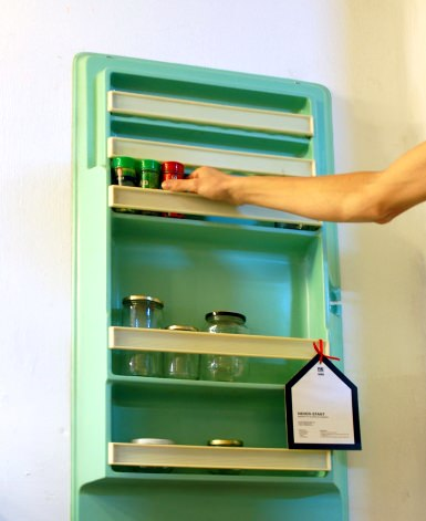Fridge Shelves Recycled Furniture