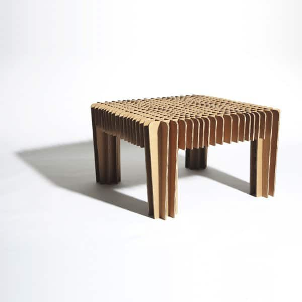 Bare-bones Carton Furniture Recycled Cardboard Recycled Furniture