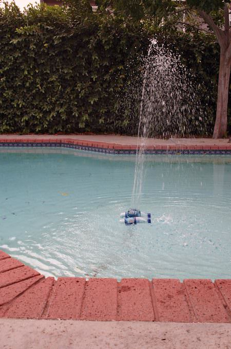 pool fountain