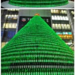 1,000 Beer Bottles Christmas Tree
