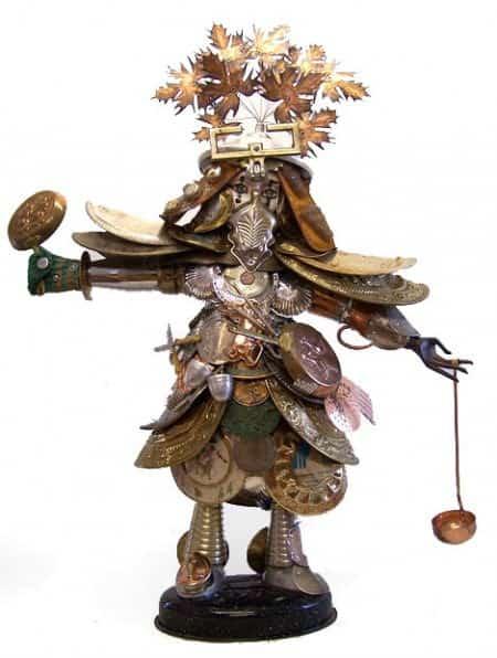 Recycled Samurais Recycled Art Recycling Metal