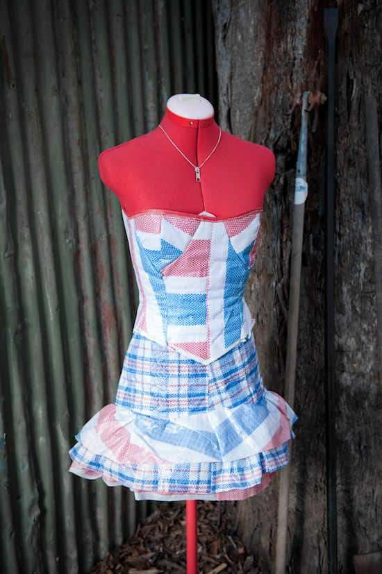 Laundry Bag Dress Accessories Recycled Plastic