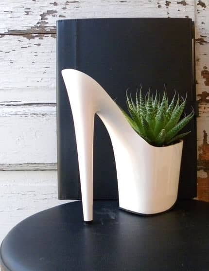 Dominatrix Shoes into Planters Accessories
