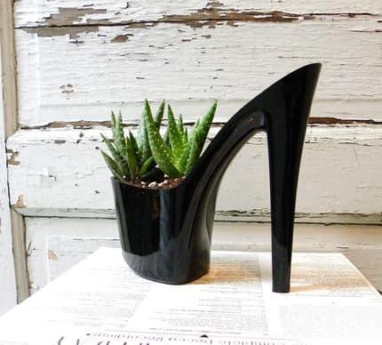 Dominatrix Shoes into Planters Accessories