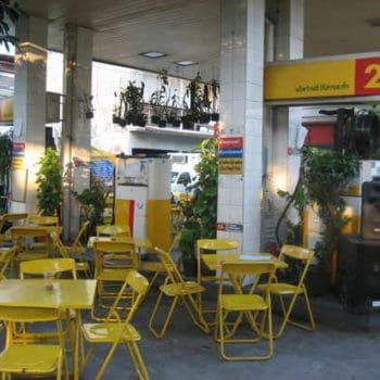 Gas Station into Restaurant