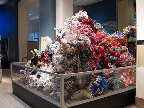 Crocheted Plastic Bag Sculptures Recycled Art Recycled Plastic