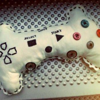 PS3 Controller Pillow