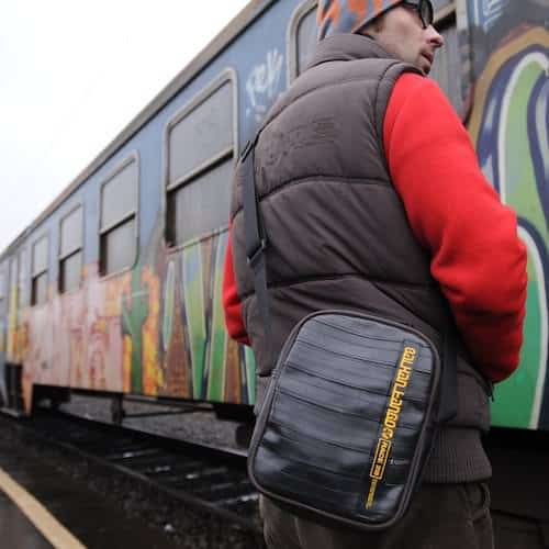 Innertube Bags Accessories Recycled Rubber