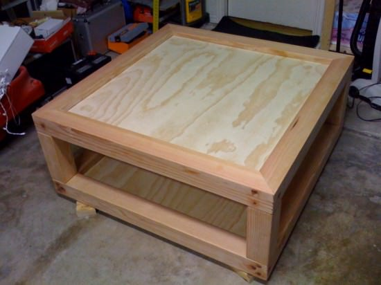 Lumbers Coffee Table Recycled Furniture Wood & Organic