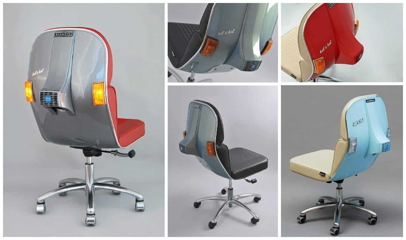 recycled vespa office chairs. Recycled Vespa Office Chairs H