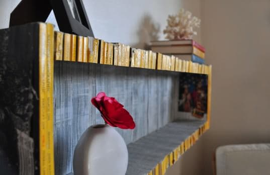 Magazine Shelf Recycled Furniture Recycling Paper & Books