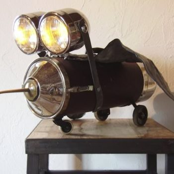 The bird lamp
