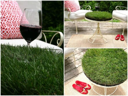 Grass Table
