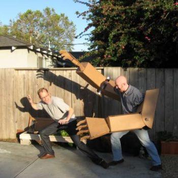 DIY: Giant Robot Arms