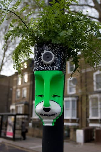 Head Gardner Interactive, Happening & Street Art Recycled Packaging Recycled Plastic