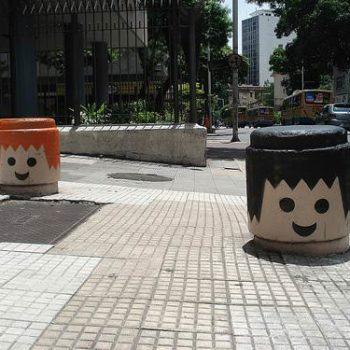 Urban Playmobil heads