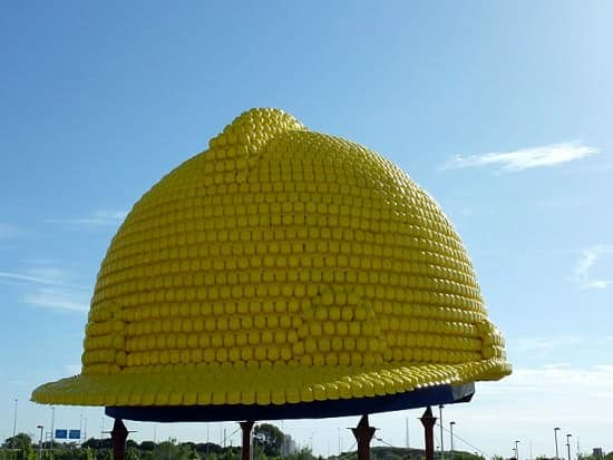 Giant Helmet Sculpture (2nd Guinness World Record) Recycled Plastic